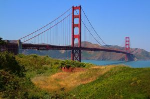 View of the Golden Gate by Doogle510