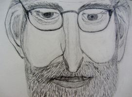 Steven Spielberg by Ginesthoi