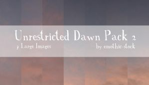 Unrestricted Dawn Pack 2 by emothic-stock