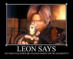 Leon says by LegendaryDragon90