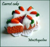 Carrot cake by miniacquoline