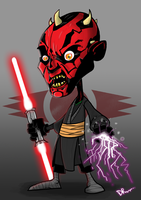 Darth Maul by DarkoRistevski