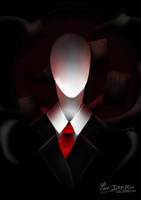 + Slenderman + by Yore-Donatsu
