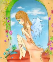 my angel by bamboo08