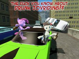 The f-ck know about drunk joyriding by Kev-Dee