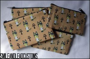 Animal Crossing: Ankha Zipper Pouch - FOR SALE by SmileAndLead