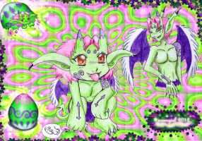 ::My Green Little Demon Chara 2011 :: by norngirl