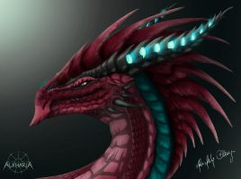 Dragonhead Collab by Alkharia