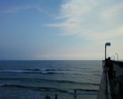 the atlantic from the pier by angelbaby88