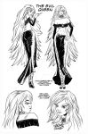 Evil Queen Manga Character by keithdraws