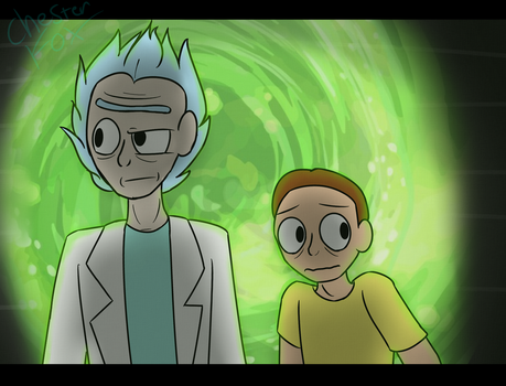 Rick and Morty by Hydro-Rose