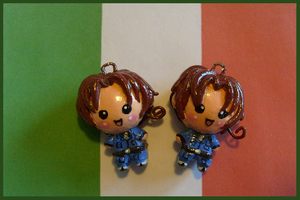 Chibi-Charms: APH Italy by MandyPandaa
