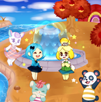 ACNL: The New Fountain by Seopai