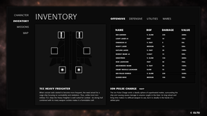 Multiverse - Inventory Screen Concept by ivarhill