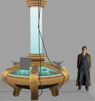 Tardis Console - In Progress by TheBothan