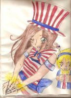 4th of july by charly-d-squirrel