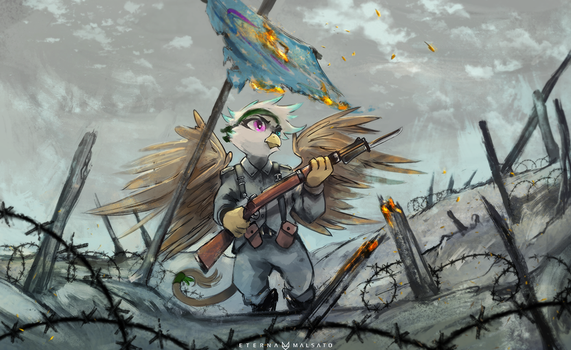 No Man's Land by FoxInShadow