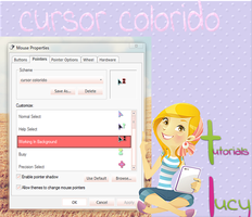 cursor colorido by tutorialslucy