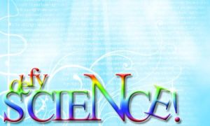 defy SCIENCE rainbow logo by Hopethefangirl