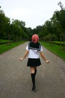 On her way to school by Dr-J-Zoidberg