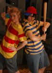 Ness and Lucas by superiorshoe