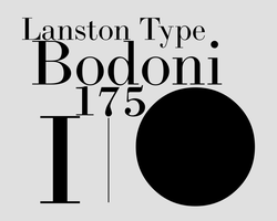 LTC Bodoni 175 by chemoelectric