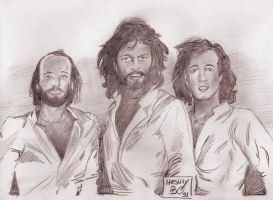 Bee Gees by BLUEHAWK-55
