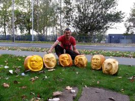 pumpkin art by simon patel by simondrawme