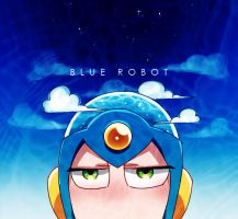 Flashman: BLUE ROBOT by c0ralus