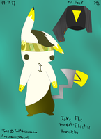 Jake The Aerialchu reference by TailTehEeveelution