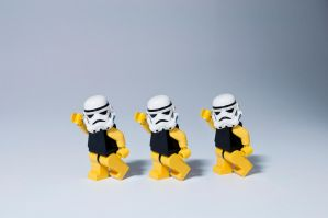 Storm Trooper Single Ladies by StewNor