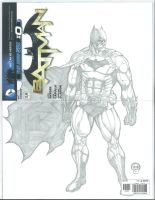 Batman #0 Sketch Cover by Ace-Continuado