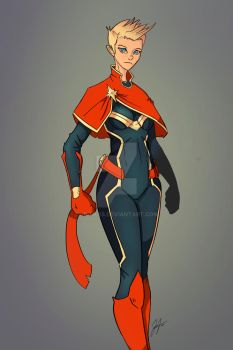 Captain Marvel by Jp-files