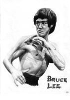 Bruce Lee by neil1987