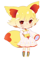 Fennekin gijinka adopt -closed- by poffinbox