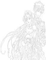 Code Geass Euphemia And Suzaku work 2 by daylover1313