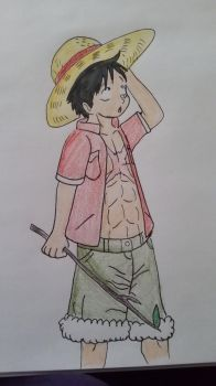 ONE PIECE FILM: PHOENIX- Luffy's Adventure Outfit by XfangheartX