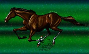 Exaggerated Thoroughbred XP by WSTopDeck