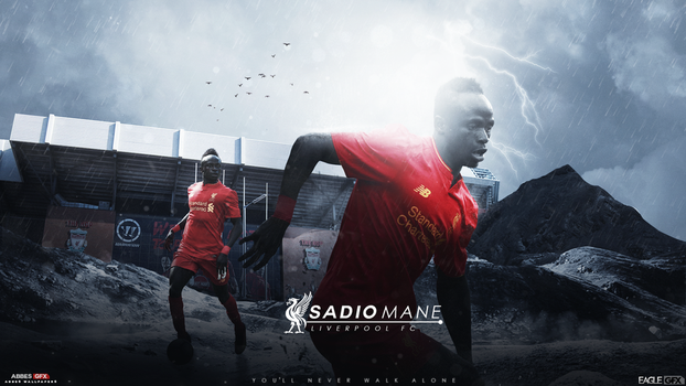 Sadio Mane Wallpaper 2016/17 ft. Anis19Zed by Abbes17