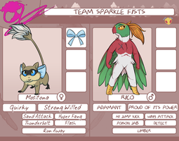 PMDOrigins | Team Sparkle Fists (Visual App) by Thalateya
