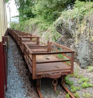 FR Slate Wagons at Minffordd by rlkitterman