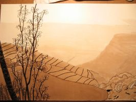 Paysage, WIP2 by Dathamir