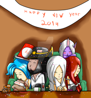 LoL- New year! by lightvanille