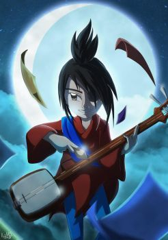 Kubo - Song of the Moon by AngelMJ
