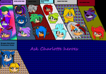 Ask Charlotte Heroes Cover by Charlotterulesofteam