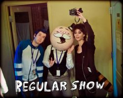 Regular Show Group Shot by junkyard-king