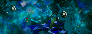 Lance Shield Signature Banner (Commission) by DigiRadiance