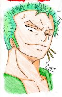 one piece - Zoro by asha0