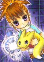 Rika Digimon Tamers by OoOoPitchBlackOoOo