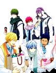 Kiseki no Sedai Valentine Render by scamp3451